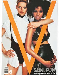 Master designer Azzedine Alaïas work was featured on the cover of #V6 in 2000 shown on @liyakebede (@imgmodels). Photographed by @mariotestino and styled by @carineroitfeld. The genius work of @azzedinealaiaofficial will never be forgotten. via V MAGAZINE OFFICIAL INSTAGRAM - Celebrity  Fashion  Haute Couture  Advertising  Culture  Beauty  Editorial Photography  Magazine Covers  Supermodels  Runway Models