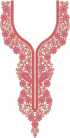 Belarbi Adel's media content and analytics Embroidery On Kurtis, Kurti Embroidery Design, Embroidery Dress, Hand Embroidery, Embroidery Stitches, Latest Embroidery Designs, Creative Embroidery, Machine Embroidery Designs, Crystal Embroidery
