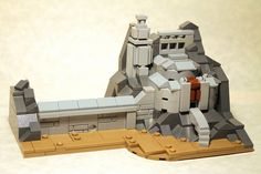 LEGO Micro Helm's Deep by George G -, via Flickr