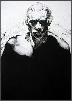 John Murray McKaig: PJF, intaglio (line etching, engraving and aquatint),