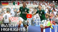 Hirving Lozano's goal secured a famous victory for Mexico over reigning World Champions Germany. Find out where to watch live: More match h. World Cup Russia 2018, World Cup 2018, Fifa World Cup, Mexico Vs Germany, Germany Vs, Korea, Match Highlights, Latest Tops, Daily Funny