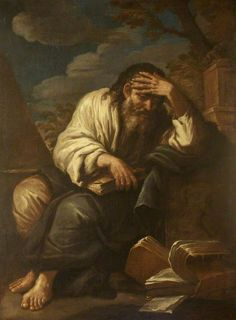 A Philosopher, by Salvator Rosa