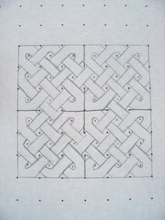 Tutorial: How to draw a Celtic knot from thatjoliegirl.blogs.com