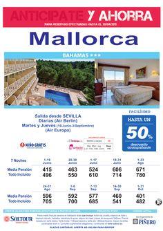 Mallorca -Anticipate y Ahorra- Hasta 50% Dto.Acompañante en Hotel Bahamas, salidas desde Sevilla ultimo minuto - http://zocotours.com/mallorca-anticipate-y-ahorra-hasta-50-dto-acompanante-en-hotel-bahamas-salidas-desde-sevilla-ultimo-minuto-2/