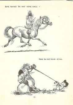 i had a book of these funny drawings when i was a child i loved them