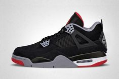 468659ba6c1 Nike Air Jordan Retro 4 Bred MEN sizes 8-13 w a receipt Free Shipping #