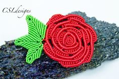 In this tutorial I show you how to make a micro macrame rose that is perfect for…