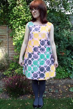 Hand Printed Fabric Swap Lou Lou Dress Hand Printed Fabric, Projects To Try, Hands, Colours, Create, Prints, Dresses, Fashion, Vestidos