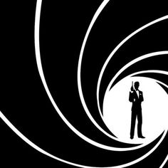 James Bond simple wallpaper - Do you see this one, Jenn - so cool for a cake - like the traditional gun he's carrying