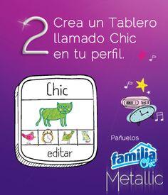 Pañuelos Familia® Chic Metalic - instrucción 2
