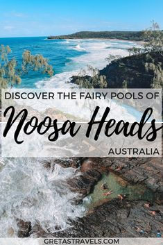 Pools, Noosa: 6 Things To Know Before You Go Planning a trip to the fairy pools of Noosa Heads? Find out everything you need to know about the fairy pools of Noosa National Park including: how to find them, what to bring, the best time to visit and more! Melbourne, Sydney, Australia Travel Guide, Visit Australia, Noosa Australia, Australia Honeymoon, Australia Trip, Queensland Australia, South Australia