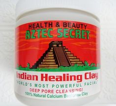 Lenallure: Aztec Secret Indian Healing Clay Mask. MUST TRY THIS.