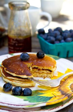 Cornmeal Pancakes and How to make the Mix