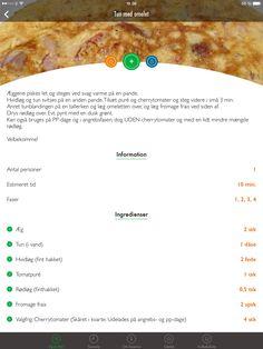Tun med omelet