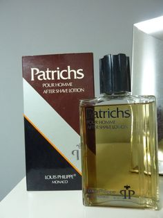 PATRICHS by LOUIS PHILIPPE After shave VINTAGE 240 ml Never used