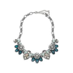 Beau Monde Collar Necklace, make a statement with this gorgeous necklace $118 from www.valeriesgems.com