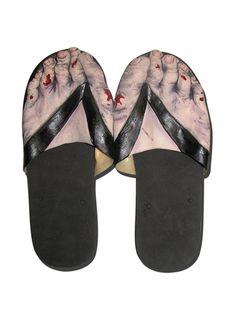 #Trendy Halloween - #Billy Bob Teeth Zombie Feet Sandals - AdoreWe.com