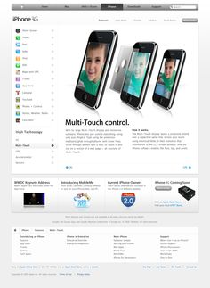 Apple - iPhone - Features - Multi-Touch (11.06.2008)