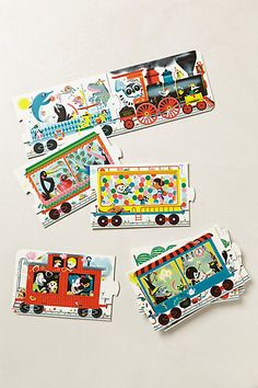 All Aboard Train Puzzle