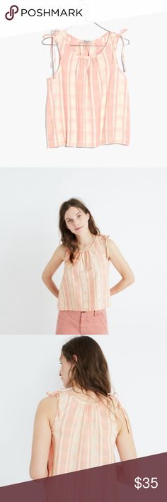 Plaid swing top size Small Madewell swing top size small, NWOT. Madewell Tops