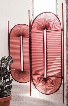Room divider from designer Christophe de la Fontaine, a Multikulti shape accordi. - Design & Room Divider & Shelves World Home Design, Design Ideas, Mawa Design, Interior Decorating, Interior Design, Diy Interior, Design Interiors, Home Decor Accessories, Trend Accessories