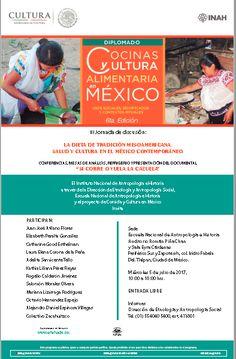 Conferencia: La dieta de tradición mesoamericana #CDMX | Curiosidades Gastronómicas