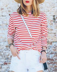 How to Dress for July 4th Without Looking Like a 6-Year-Old via @PureWow