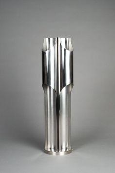 lifeonsundays:  Luminaire Design en métal chromé et brossé - 1970