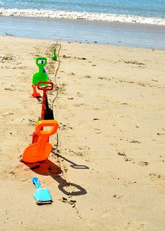 Beach games for kids-- is probably the best one for ours.