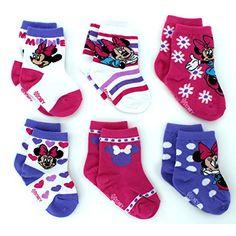 Minnie Mouse Baby 6 pk Socks (18-24M, Minnie Flowers Crew) Disney http://www.amazon.com/dp/B01ATRTI74/ref=cm_sw_r_pi_dp_1pTQwb0HWPSKR