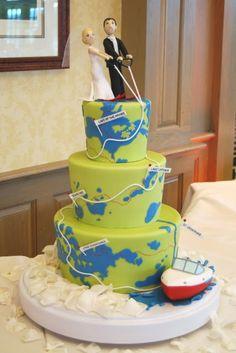 Gateaux's cake log