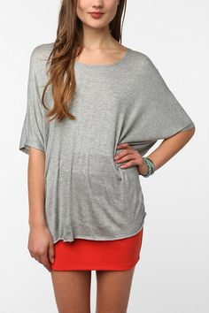 OBSESSED with this shirt.. already have it in 2 colors. Daydreamer LA Oversized Tee  #UrbanOutfitters