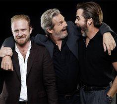 Chris Pine, Jeff Britges, Ben Foster