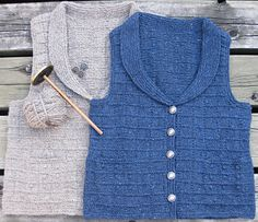 Oh, Yes!! Spindle spun and plied and then knit into this lovely vest. Buttonbox Vest -Knittyspin