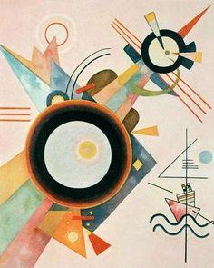 Kandinsky / Arrowhead Picture / 1923 #Wassily #Kandinsky #weewado #wassily #kandinsky #bauhaus #geometry