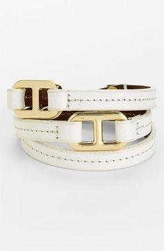 'Plato' Leather Wrap Bracelet