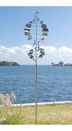 Wind Sailor Sculpture  $129.99 |  Plow & Hearth