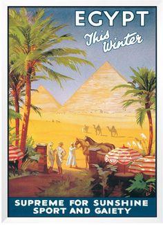 "Art.com ""Egypt This Winter"" Framed Wall Art"