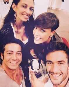 #RobertaGiarrusso Roberta Giarrusso: Beautifull persons! @alessandramoschillo ❤️ @alexpacifico1 ridere fa bene alla salute