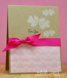 Created by Kasia Curry for Avery Elle using the Blossoms & Blooms stamp set. http://natureofcraftythings.blogspot.com