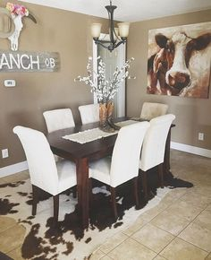 I love the room I would just want rustic furniture instead of white