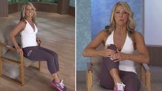 Sandalyede Otururken Yapacağınız Bu 5 Hareketle Vücudunuzu Hızla Şekle Sokun