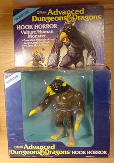 """A Hook Horror figure, from the """"Advanced Dungeons & Dragons"""" line of toys"""