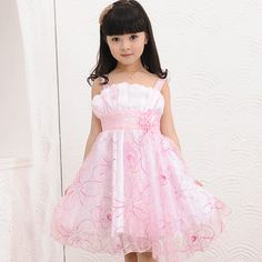 Free shipping Children's clothing princess dress 2014 tulle dress formal dress female child summer small child one-piece dress US $12.80