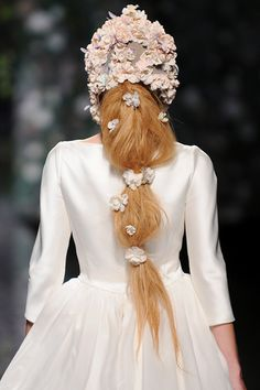 Mercedes Benz Fashion Week Madrid S/S 2013 -   Victorio & Lucchino bridal    collection