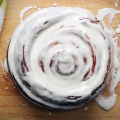Giant Cinnamon Roll Recipe by Tasty