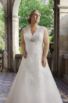 plus size weddng gowns   Wedding Dresses » glamour plus size wedding dress roz la kelin bridal ...
