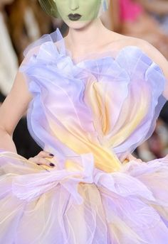 Christian Dior Couture Fall 2010 - omg what a beautiful combination of colours ❤️