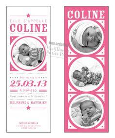 faire-part naissance 1 Faire Part Invitation, Announcement, Birth, Inspiration, Christening, Biblical Inspiration, Inhalation
