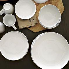 Organic Shaped Dinnerware Set | west elm